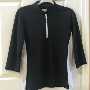 Callaway women's Golf Pullover Black white trim
